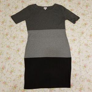 3 Color Block Tshirt Dress by LuLaRoe